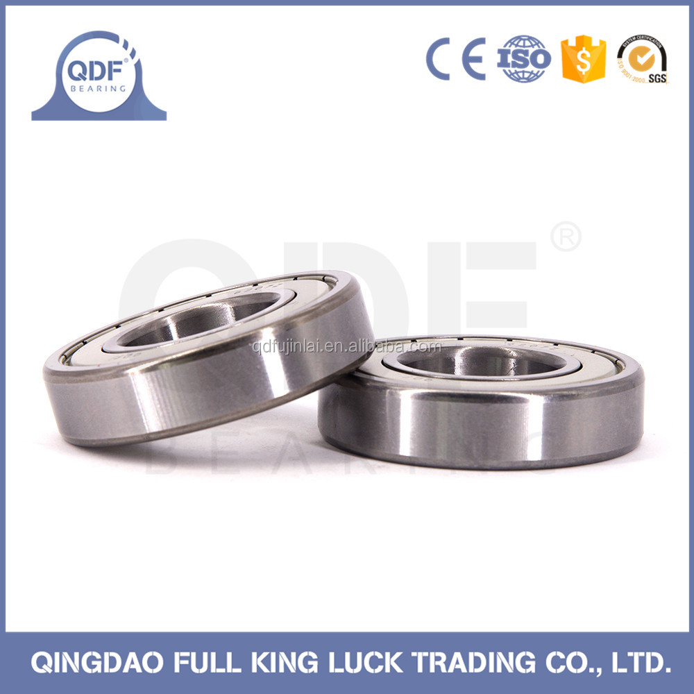 high quality red color coated deep groove ball bearing