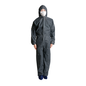 Wholesale Factory Manufacturing waterproof protective suit Disposable Protective Safety Coverall/Work Suit With Hood
