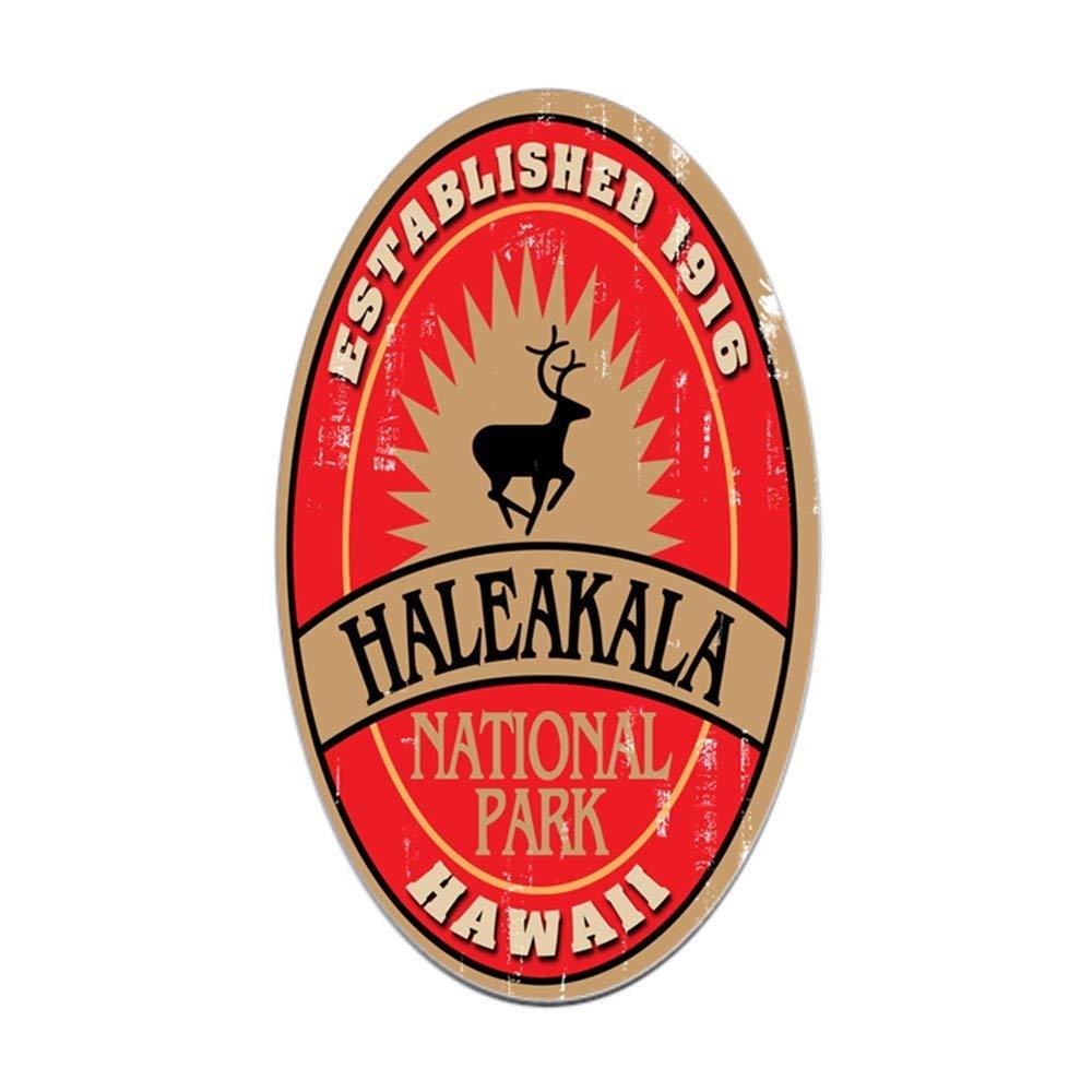 CafePress - Haleakala National Park Oval Sticker - Oval Bumper Sticker, Euro Oval Car Decal
