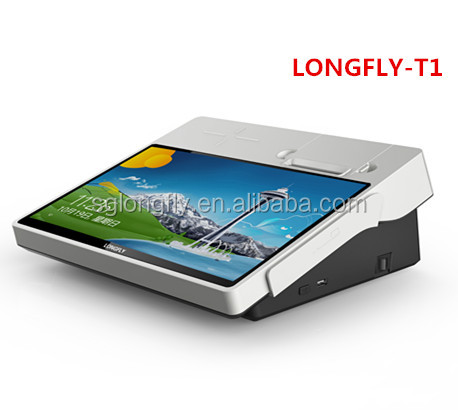 portable wifi 3G windows pos with RFID card