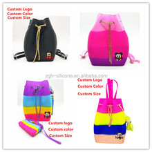2017 Hot Selling Cheap Silicone Backpack For Girls Or Kids