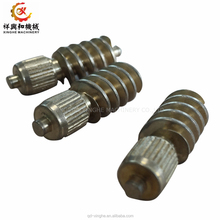 cnc auto gear parts, metal CNC machining part C95500 bronze casting /aluminum alloy auto parts worm gears