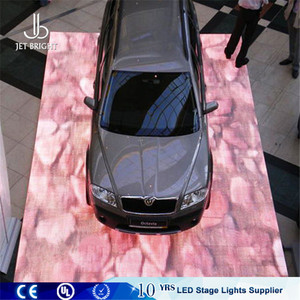 China super slim led dance floor car show video dance mats