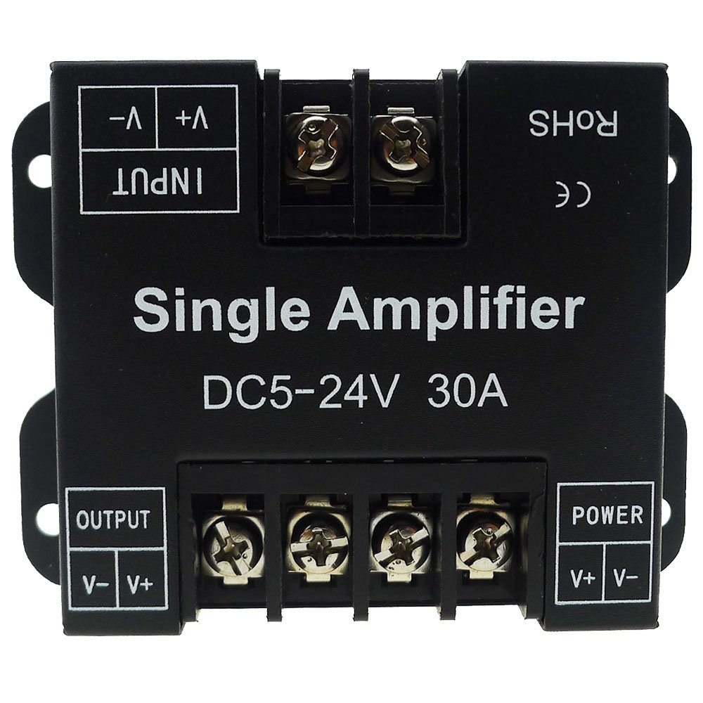 Cheap 5 1 Amplifier Find Deals On Line At Alibabacom Figure Tda2050 Typical Hifi Schematic Get Quotations Ledenet Single Color Led 30a Data Signal Repeater 1ch Channel Dimmer Power For