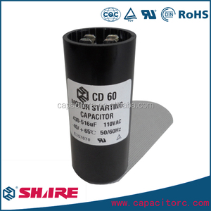 250uf cd60 250v motor starting capacitor for fan