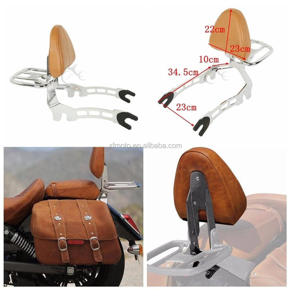 Sissy Bar + Luggage Rack Mouting Spools For Indian Scout 2015 16 17 Scout Sixty