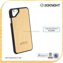 2015 Latest fashion design Hot Sale Real Wood for iPhone 6s Case, For cover iPhone 6 Wooden custom printing laser logo