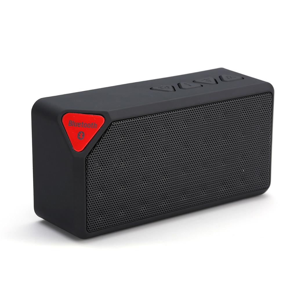 mini bluetooth speaker x3 fashion style tf usb wireless portable music sound box subwoofer. Black Bedroom Furniture Sets. Home Design Ideas