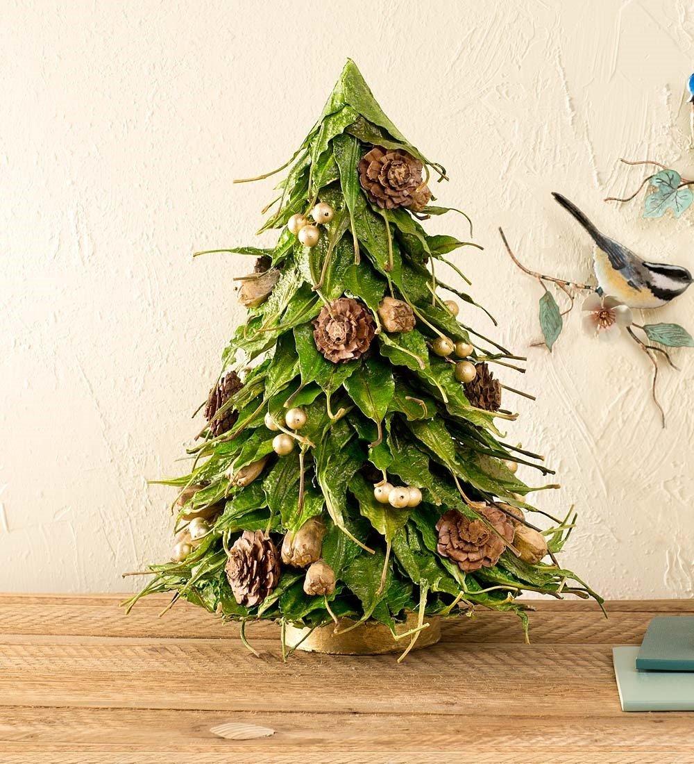 get quotations mango leaf christmas tree