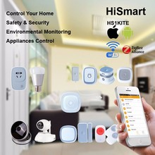 SGS CE RoHS Heiman IOT Wifi Zigbee Home Automation H1 Kit with Free APP Hi-smart