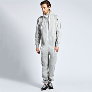 Cheap wholesale adult custom onesie with white trims