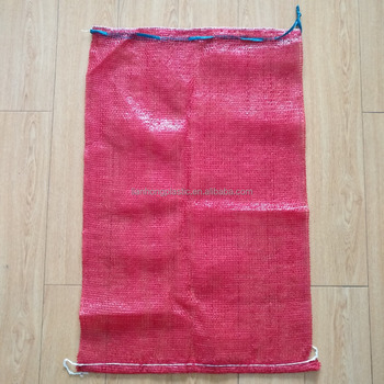 Pp Tubular Red Net Bag For Potato And Onions Ng Vegetables Mesh Fruit Microwave Bags Woven Onion