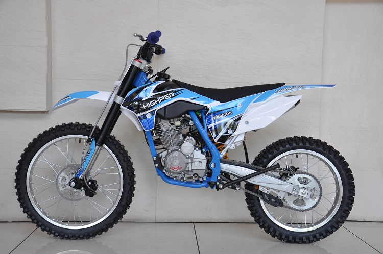 Manual de corrida 150cc 200cc 250cc Motocicleta off road Dirt bike pit bicicleta