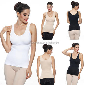 24d7862a1e AS SEEN ON TV Comfort seamless wireless slimming cami shaper with removable  padding
