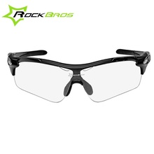 ROCKBROS Polarized UV400 Protective Sports fishing cycling transparent Photochromic climbing glasses