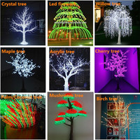 Street/garden/festival Popular Landscape Led Cherry Flower Led ...