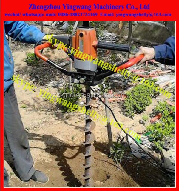 machine to dig holes for trees