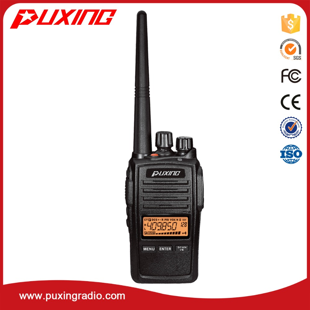 IP67 walkie talkie PX-578 FM UHF/VHF 5W
