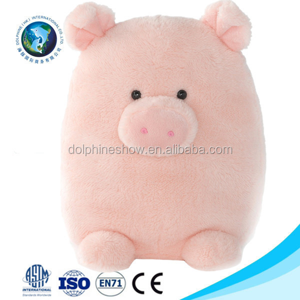 Customized Cute Plush Soft Toy Pink Pig Toy Fashion New Design