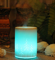 art ceramic Electric essential oil diffuser , Electric aroma Lamp , cool mist humidifier