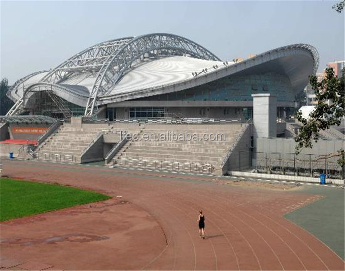 Steel Space Frame Building Prefabricated Stadium