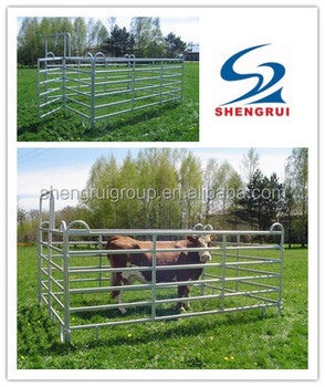 Hot sale factory price Galvanized Horse Panel, Horse Fence Panels, Portable cattle panel