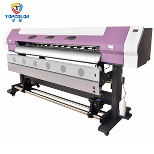 Direct jet 6 feet TC-1800C wit color large format printer photo dx5 dx7 decals printing machine for sale