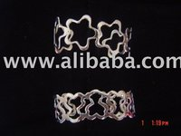 Silver Bracelet, Neckless, Rings From Taxco Mexico, Jewelry Of Silver