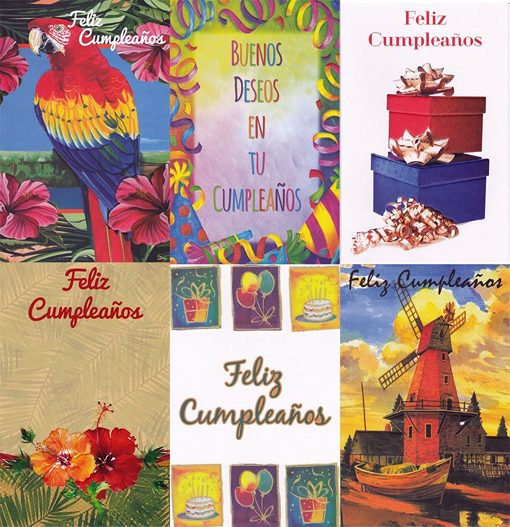 Cheap Spanish Birthday Cards Find Spanish Birthday Cards Deals On