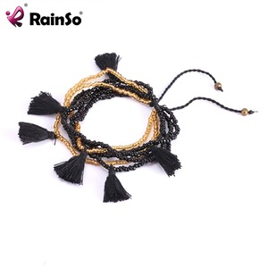 New fashion jewerly 2018 Adjustable Beaded Bracelet Tassel Element