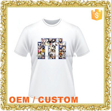 100% cotton logo printed custom design tee shirt create your own t shirt