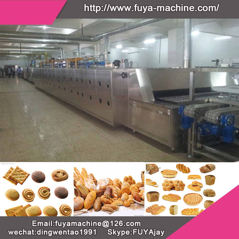 Professional Bakery Equipment Gas Fired Brick Tunnel Kiln Oven