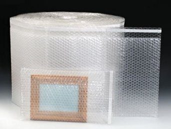 """8-1/2"""" x 11"""" Sealed Air Bubble Wrap Brand Triple Layer Bubble Bags on a Roll (3/16"""") (1 Roll) - AB-532-208"""