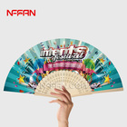 Custom printed personalized hand held folding fans