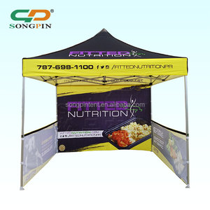2018 Gazebo Party Canopy 10x10Ft Popup Tents Trade Show Advertising Customize Outdoor Folding Tent