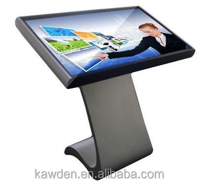 Factory supplier 55 inch LCD screen All in one quick response 6ms touch sreen kiosk