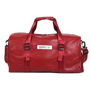 d07affa3eb Wholesale custom durable outdoor pu leather duffle bag large sport travel  duffel gym bag