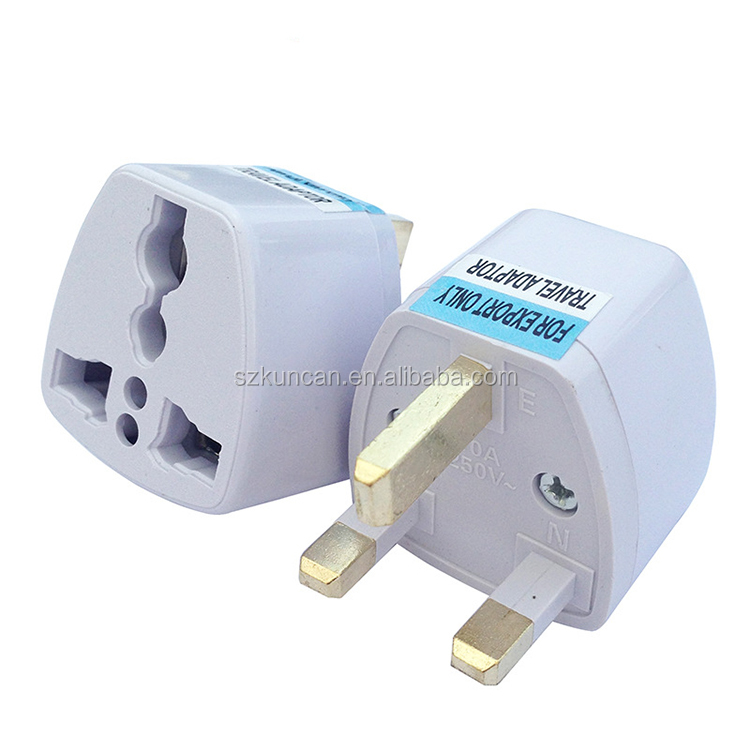 UK plug 220V to 100V light portable travel adapter AC DC converter <strong>Socket</strong>