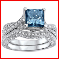 blue sapphire cubic zirconia high quality 925 silver/brass wedding style saudi arabia gold wedding ring price