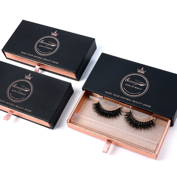 7b90edba60a Good price hebei 5 pack private label clear drawer package 3d false lashes  eyelash