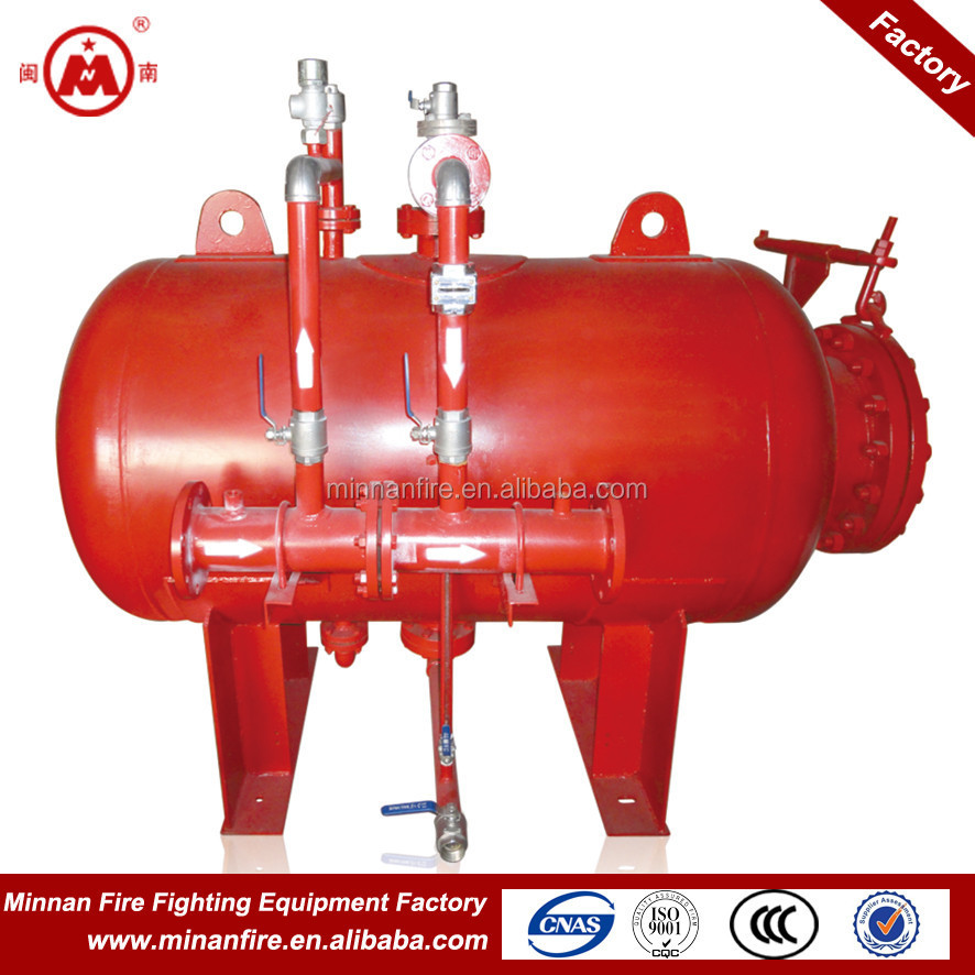 PHYM rubber bladder foam tank fire fighting system design
