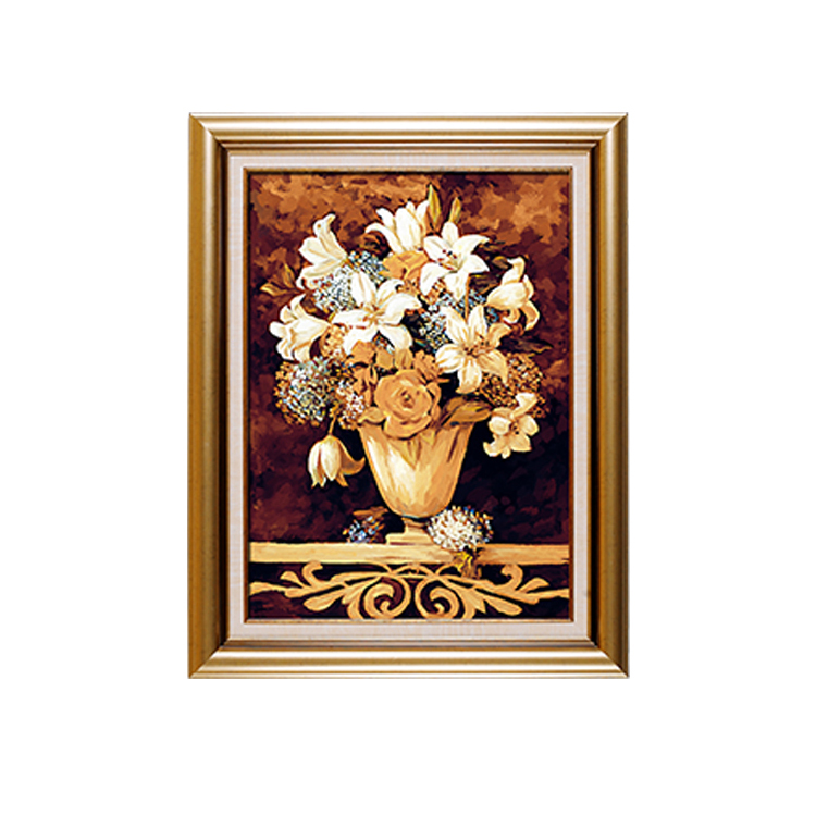 Plastic Gold Hanging Frame Picture Painting Mirror Frames Wholesale