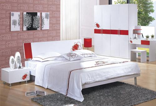 Modern Mdf Flowers White Polish Lacquer Bedroom Furniture(zg-9905#) - Buy  Bedroom Sets Furniutre Join,Modern Bedroom Furniture,White Gloss Bedroom ...