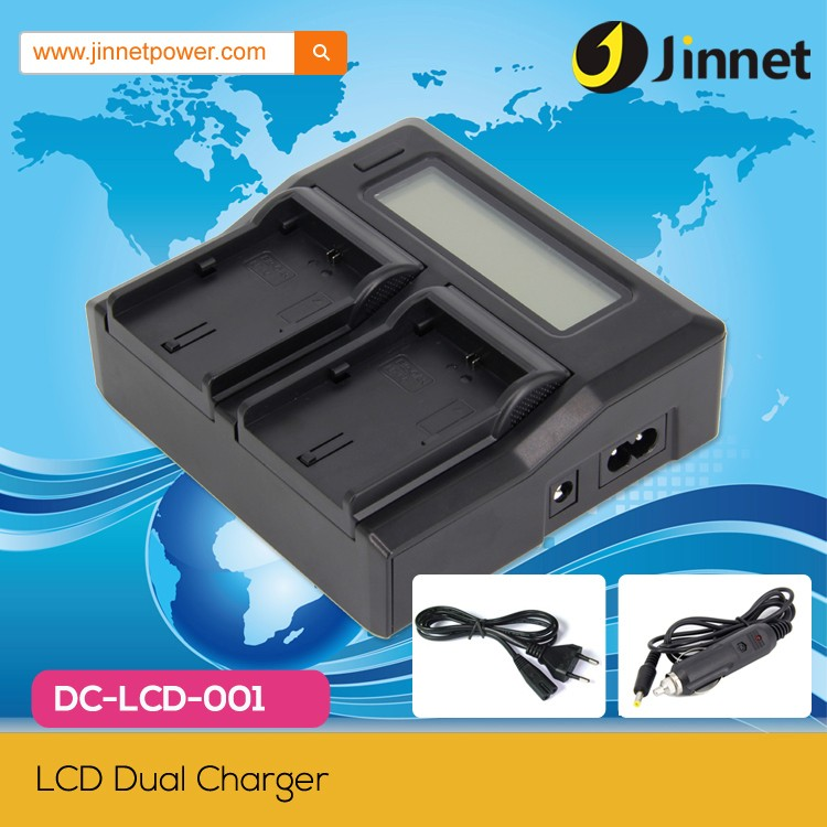 High quality fast double charger for Canon LP-E6 LP-E8 LP-E12 EN-EL14 EN-EL15 battery
