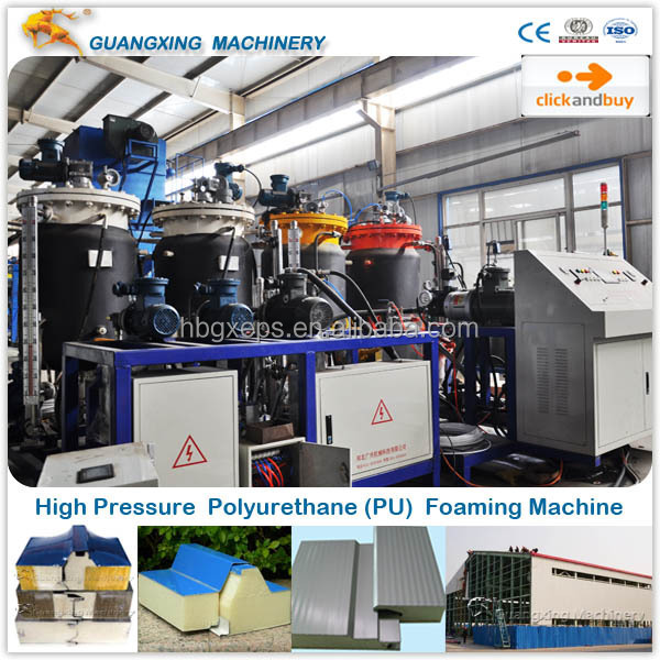 CE Machine for High Density Polyurethane Foam Sandwich Panel