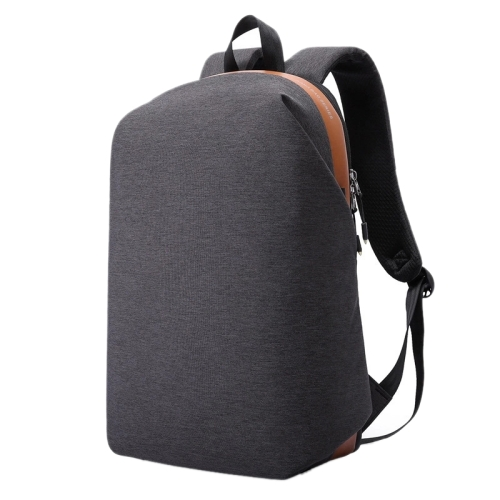 New Style Men Oxford Cloth Anti-theft Zipper <strong>Backpack</strong>, Multi-function Laptop Bag School Shoulders Bag (Black)
