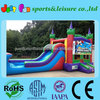 5 in 1 super mario bros combo inflatable jumping castle water slide