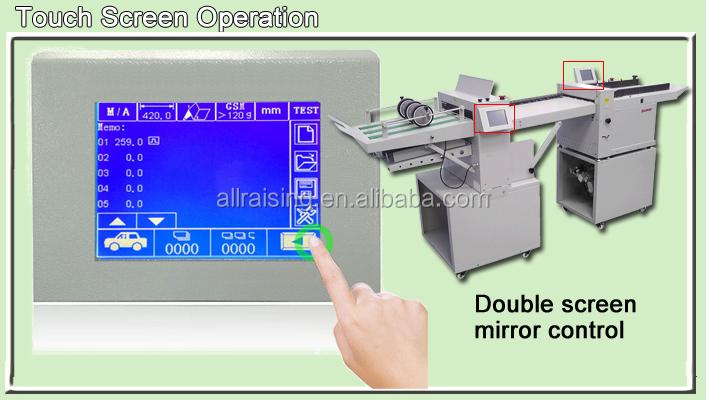 digital creasing and folding machine  creaser and folder