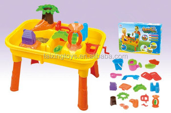 Zand Water Tafel : Kids zomer speelgoed activiteit zand water tool sets play tafel