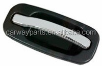 CW-DH-1393 OUTSIDE DOOR HANDLE FRONT TEXTURED BASE/CHROME LEVER W/O LOCK HOLE RH ONLY FOR G.M SILVERADO/SIERRA 99-04